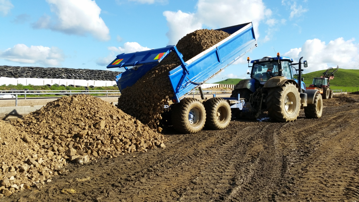Cartage by Jackson Contracting, Waikato Agricultural Contracting
